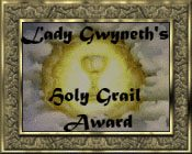 Holy Grail Award